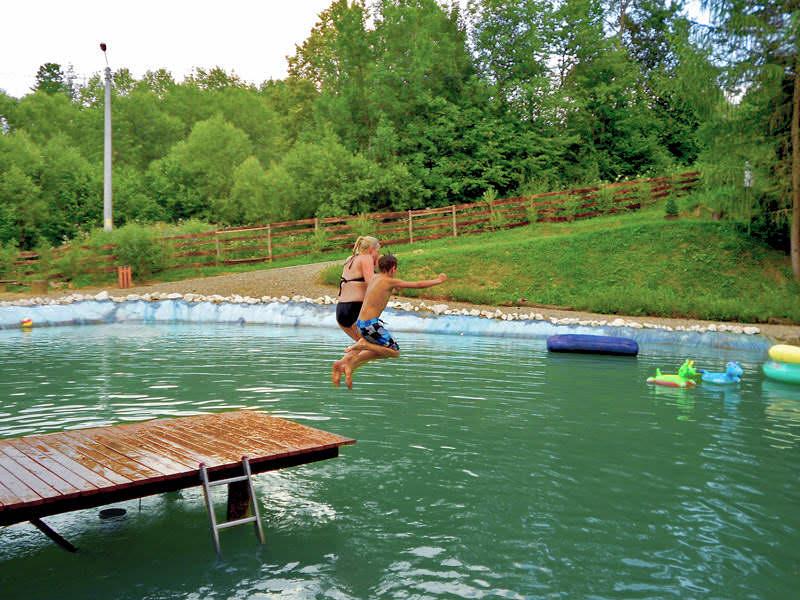 Jeziorko kąpielowe